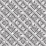 Modèle sans couture de tweed dans le gris Image stock