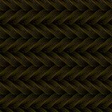 Modèle sans couture de vecteur avec des tresses La texture du fil avec la ligne pointillée tresse le plan rapproché Fond ornement Images stock