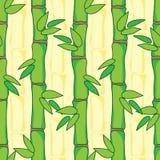 Modèle avec le bambou Photos stock