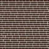 Modèle sans couture de vecteur avec le mur de briques coloré illustration libre de droits