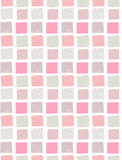 Modèle sans couture de vecteur avec les places tirées par la main colorées Photographie stock libre de droits