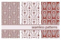 Modèle sans couture de vecteur avec les poires colorées illustration stock