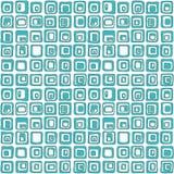 Modèle sans couture de vecteur carré doux, style net Pour le backgrownd, textile Photo libre de droits
