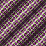 Modèle sans couture de vecteur d'illusion optique Photo stock
