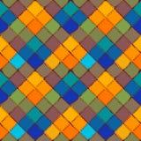Modèle sans couture de vecteur de fond de patchwork Image stock