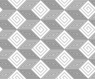 Modèle sans couture de vecteur de zigzag Image libre de droits