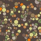Modèle sans couture de vecteur des cercles colorés avec Photographie stock libre de droits