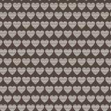 Modèle sans couture de vecteur des coeurs rayés Images stock