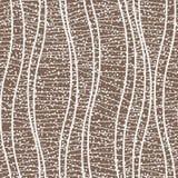 Modèle sans couture de vecteur des lignes onduleuses Images libres de droits