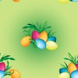 Modèle sans couture de vecteur des vacances de Pâques Image libre de droits
