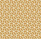 Modèle sans couture de vecteur floral élégant de damassé Illustration décorative de fleur Art Deco Background abstrait Illustration Stock