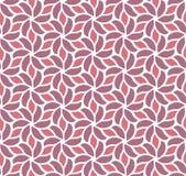 Modèle sans couture de vecteur floral élégant de damassé Illustration décorative de fleur Art Deco Background abstrait Illustration de Vecteur