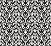 Modèle sans couture de vecteur floral élégant Illustration décorative de fleur Art Deco Background abstrait Image stock