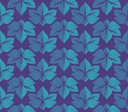 Modèle sans couture de vecteur floral élégant Illustration décorative de fleur Art Deco Background abstrait illustration stock