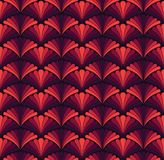 Modèle sans couture de vecteur floral élégant Illustration décorative de fleur Art Deco Background abstrait illustration de vecteur