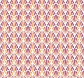 Modèle sans couture de vecteur floral géométrique Art Deco Background abstrait Texture élégante classique Illustration Libre de Droits
