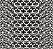 Modèle sans couture de vecteur floral géométrique Art Deco Background abstrait Texture élégante classique Illustration de Vecteur