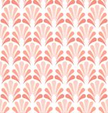 Modèle sans couture de vecteur floral rose élégant Illustration décorative de fleur Art Deco Background abstrait illustration de vecteur