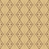 Modèle sans couture de vecteur géométrique Photos libres de droits