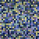 Modèle sans couture de vecteur géométrique abstrait Images libres de droits