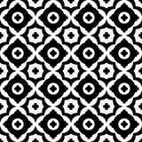 Modèle sans couture de vecteur noir et blanc illustration libre de droits