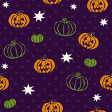 Modèle sans couture de vecteur pour Halloween Photographie stock