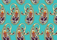 Modèle sans couture de vecteur pour le calibre de conception Décor fleuri de vintage Élément oriental de style Décoration orienta Photos libres de droits