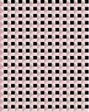 Modèle sans couture de vecteur de rose et de places noires illustration de vecteur