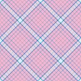Modèle sans couture de vecteur de tartan Image libre de droits