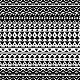 Modèle sans couture de vecteur tribal Photo stock