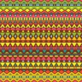 Modèle sans couture de vecteur tribal Photo libre de droits