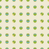Modèle sans couture de vintage d'une polka Dot Background illustration libre de droits