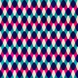Modèle sans couture de vintage de zigzag Image stock