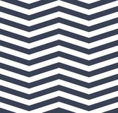 Modèle sans couture de zigzag blanc bleu de chevron ENV 10 illustration libre de droits
