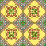 Modèle sans couture des éléments abstraits illustration de vecteur