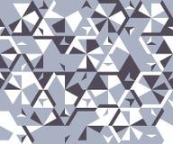 Modèle sans couture des éléments triangulaires simples Images stock
