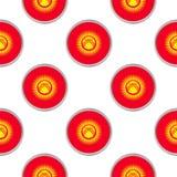 Modèle sans couture des cercles avec le drapeau du Kirghizistan Photo libre de droits