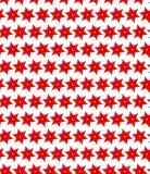 Modèle sans couture des fleurs rouges Photographie stock libre de droits