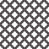 Modèle sans couture des liens sous la forme de croix Images stock