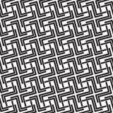 Modèle sans couture des liens sous la forme de croix Photo stock