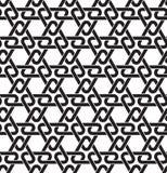 Modèle sans couture des liens sous la forme de triangles Photo stock