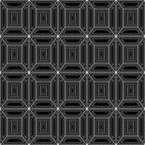 Modèle sans couture des lignes blanches sur un fond noir illustration de vecteur