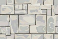 Modèle sans couture des pierres illustration stock