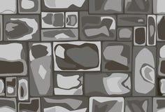 Modèle sans couture des pierres Photos stock