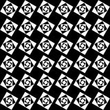 Modèle sans couture des places blanches sur un fond noir illustration libre de droits