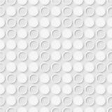 Modèle sans couture des points et des anneaux Papier peint pointillé géométrique illustration stock