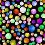 Modèle sans couture doux coloré de Gumball Image stock