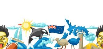 Modèle sans couture du Nouvelle-Zélande illustration libre de droits