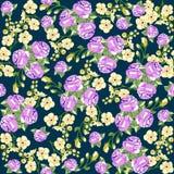 Modèle sans couture en petite fleur Copie romantique de fleur Image stock