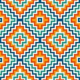 Modèle sans couture ethnique avec des lignes de chevron Fond d'ornamental de natifs américains Motif tribal Papier numérique de B illustration de vecteur